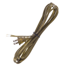 Antique Brass Colored Lamp Cord