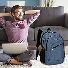 bolsa para ordenador portátil para hombre y mujer