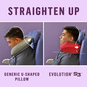 Cabeau Evoluition S3 Memory Foam Travel Neck Pillow