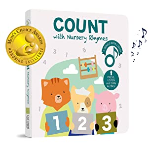 sound book counting numbers nursery rhymes moms choice award
