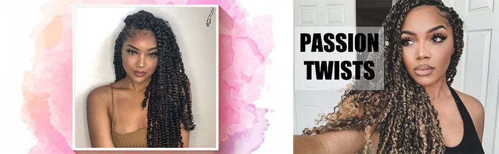 passion twist crochet hair,passion twist hair,crochet hair,braiding hair,spring twist hair,bombtwist