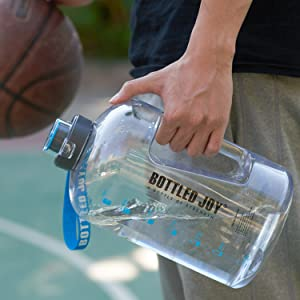 1 gallon large water bottle