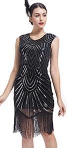1920 fringe dresses