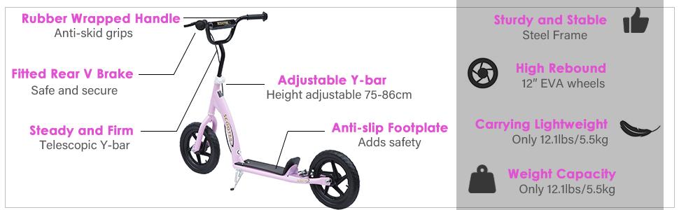 Kids Pro Stunt Scooter