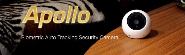 Apollo 1080p fhd camera wifi white home security indoor camera