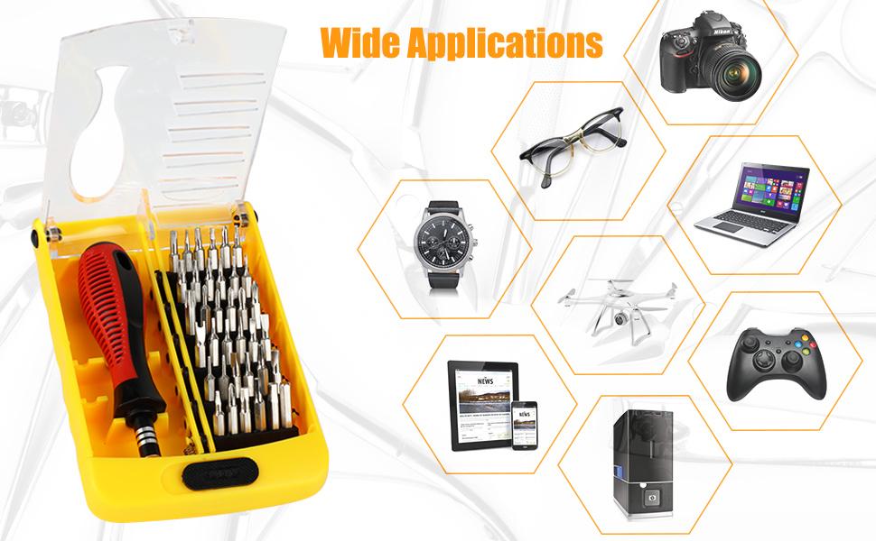 DIY precision screwdriver set
