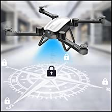 Flashandfocus.com 9f7b2518-d071-4394-9063-71d1a1190ffe.__CR0,0,300,300_PT0_SX220_V1___ SIMREX X900 Drone Optical Flow Positioning RC Quadcopter with 1080P HD Camera, Altitude Hold Headless Mode, Foldable FPV…