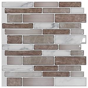 peel and stick tile backsplash for kitchen or bathroom