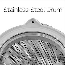 portable washing machine stainless steel drum