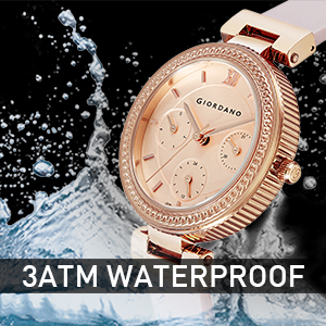 Giordano water resistant watches