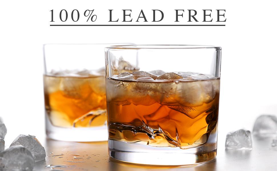 Lead Free Whiskey Glasses; Lead Free Glasses
