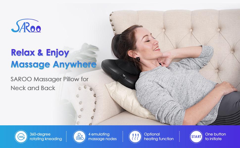 SAROO Massager Pillow Neck amp; Back