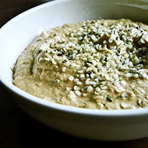 Hemp seeds Butter - Non-GMO - Sugar Free - Vegan - Great Source of Omega 3 6