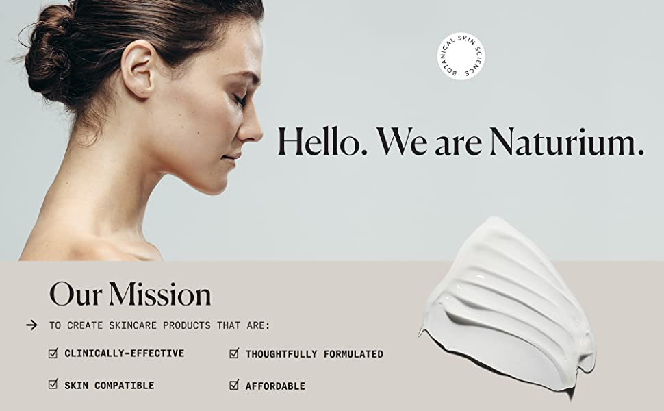 Our mission clinically effective, skin compatible, thoughtfully formulated