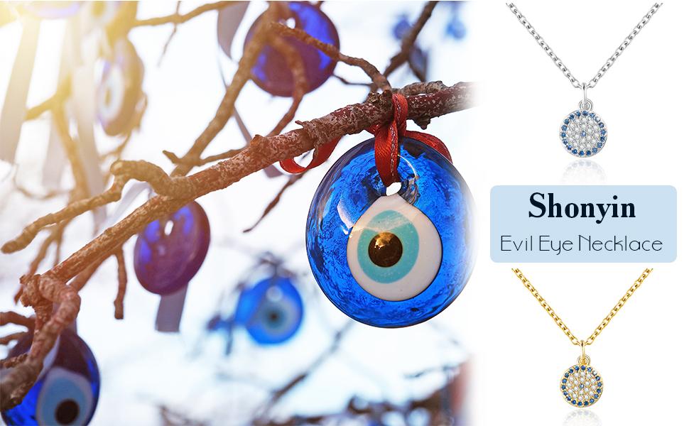 Dainty Necklace,Cross necklace,Evil eye jewelry,Blue evil eye,Good luck necklace Simple Evil eye Necklace Evil Eye Necklace Gold Necklace
