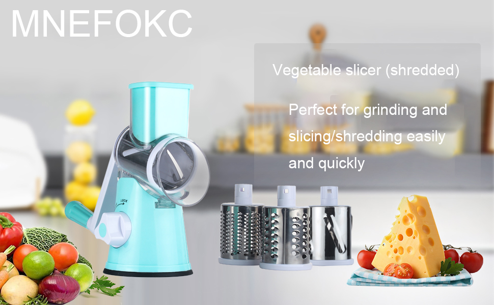 Hand Food Chopper, Vegetable Quick Chopper Manual Food Processor