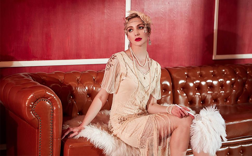 falpper dress
