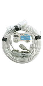dog trolley runner cable