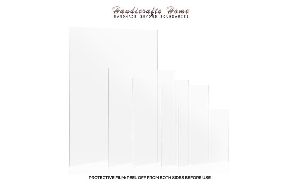 Handicraft Home 2.0 mm Ultra Transparente Acrílico Plexiglás Foto ...