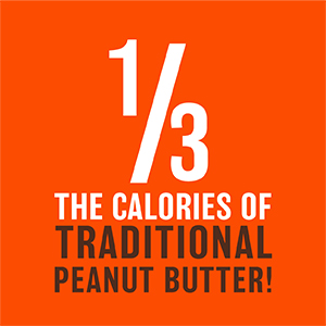 1/3 the calories of traditional peanut butter pbfit peanut butter powder betterbody foods