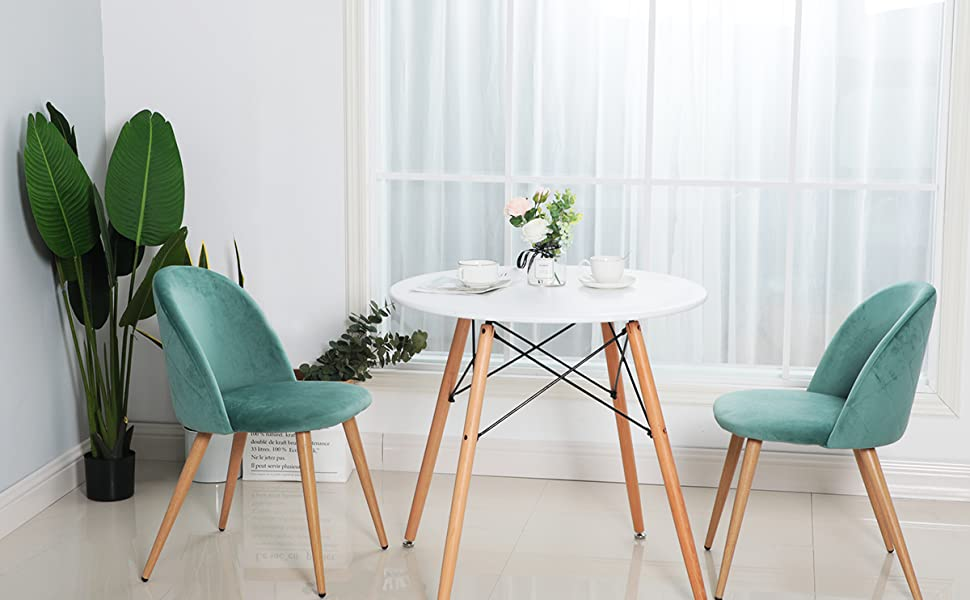 Esszimmerstühle hellgrün
