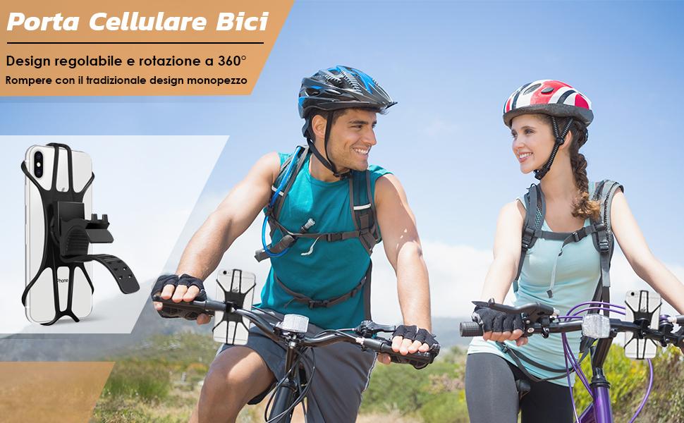 supporto cellulare bici