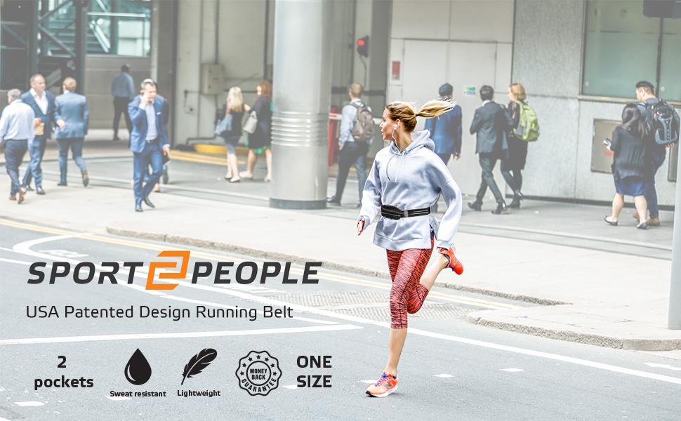 USA patented Design running belt