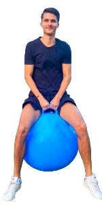 28-inch hoppity hop ball