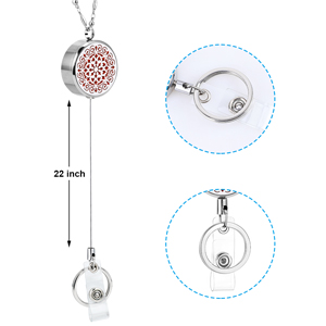 waterdrop diffuser necklace