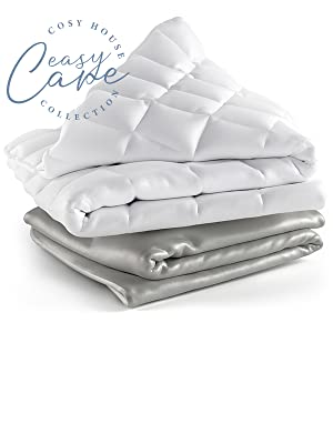 cosy house cozy bamboo rayon viscose weighted blankets for adults