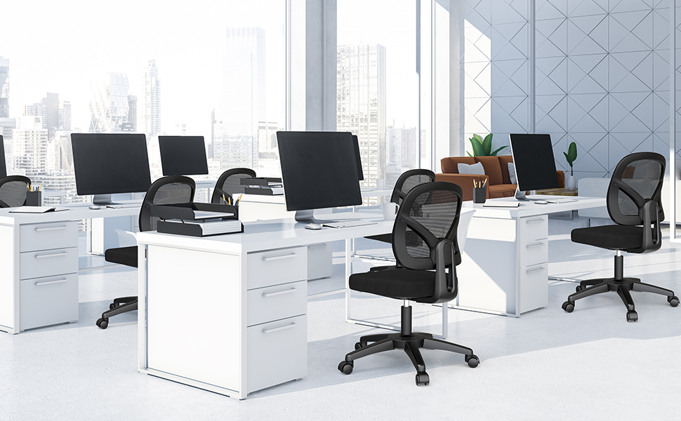 desk chair with no arms