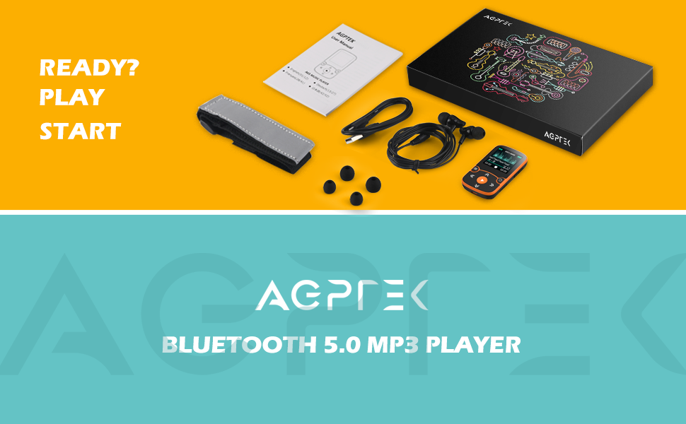 BLUETOOTH 5.0 MP3 PLAYER