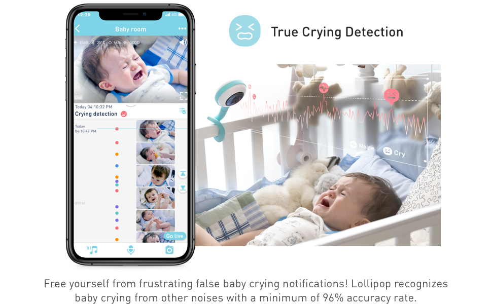 Lollipop baby monitor camera