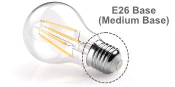Floor Lamp uses A Type E26 base Bulbs light bulbs bedroom lights room lights led light stand up