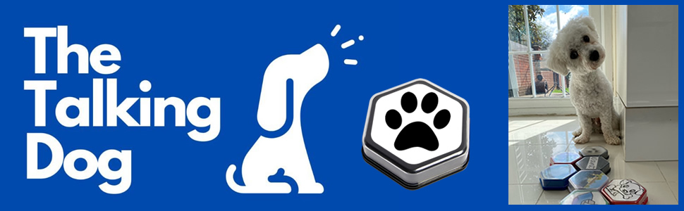 Talking Dog Buttons Training Hunger 4 words