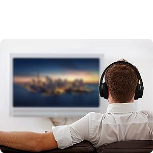 wireless tv headphones bluetooth tv headphones surround sound headphones bass headphones
