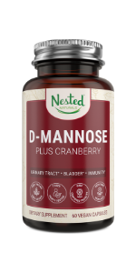 high quality potent strong maximum fast strength d mannose concentrate capsule pill uti relief