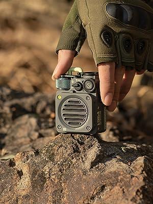 Portable speaker with amazing sound