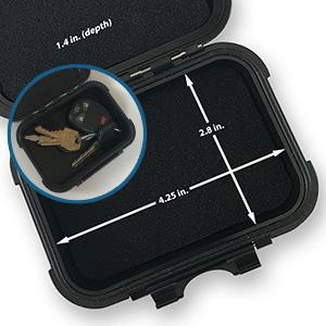 MiniMag Plus Large Magnetic Under Car Stash Box