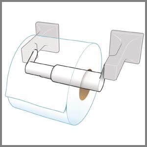 The tissue holder extender is lightweight.