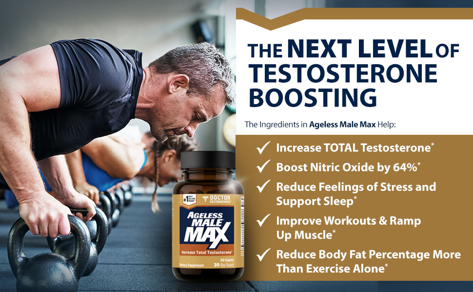 Ageless Male Max Benefits