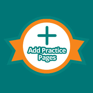 Add Practice Pages