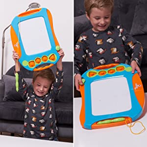 magnetic drawing board for kids and toddlers