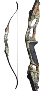 """Archery 56"""" Takedown Recurve Bow and Arrow Set Right Hand Longbows"""