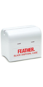 Razor Blade Disposal Case