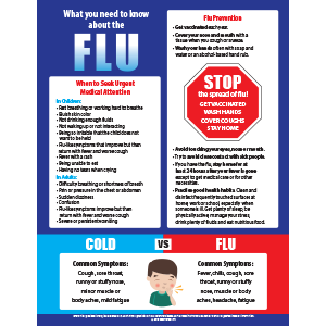 What You Need to Know About The Flu Poster