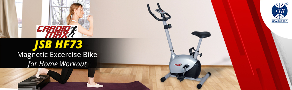 cardio max jsb hf73 magentic fitness bike