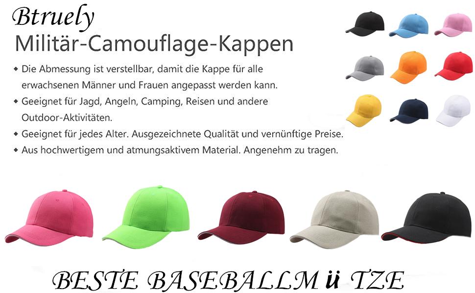 Kinder Jungen Mädchen Snapback Basecap Baseball Cap Kappe Mütze Sonnenhut Hüte