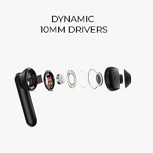 Dynamic 10mm drivers