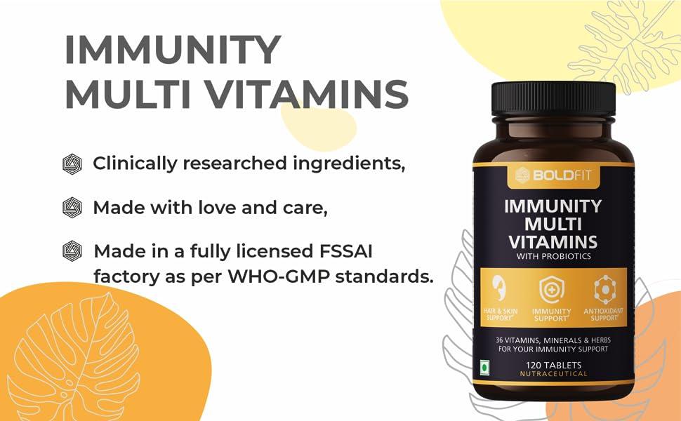 immunity booster multivitamins